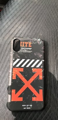 Off white iPhone X case Mississauga, L5L 2G2