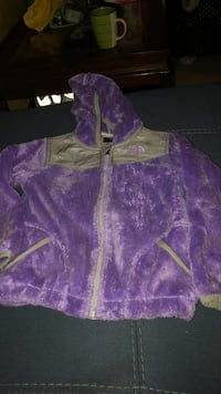 4T NORTH FACE furry zip up hoodie New York, 10453