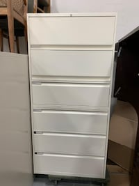 Teknion 6 Drawers Lateral Filing Cabinet-Excellent Condition! Mississauga