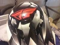 grey, black, and red motocross helmet Sacramento, 95815