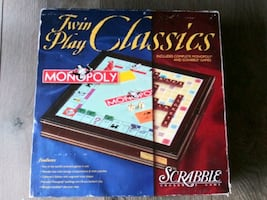 Twin Play Classics; Monopoly and Scrabble