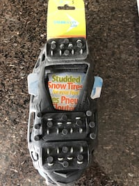 Brand new size small studded snow tire for shoes Toronto, M1C 4M6