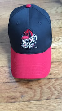 Baseball hat red and black South Grafton, 01560