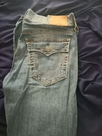blue True Religion denim jeans King City, L7B 1C9