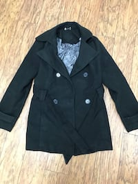 Black peacoat - size large  Denver, 80249