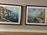 Two oil paintings...size 30x26 Longueuil, J3Y