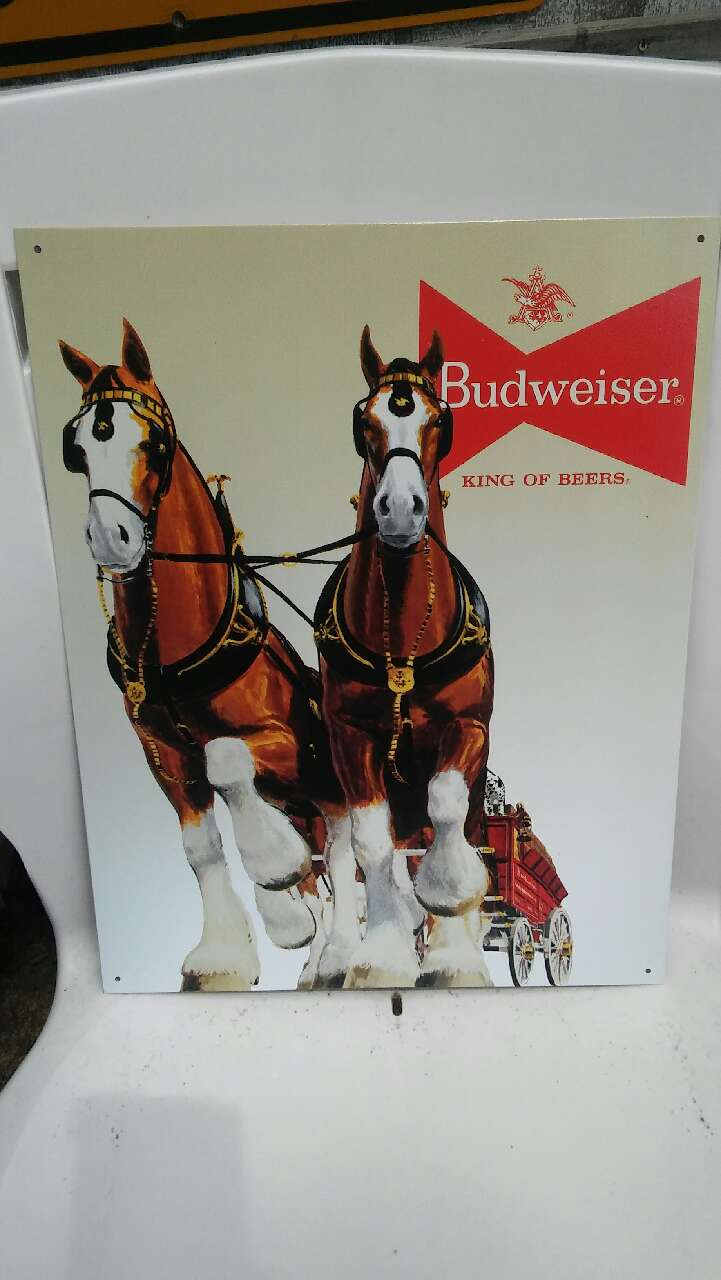 Budweiser King of Beers poster