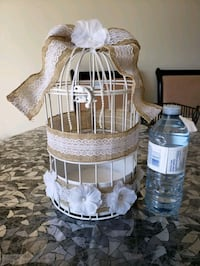 Decorative bird cage for money, card box Mississauga, L5M 0A5