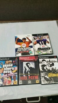 Games: ps2, wii, gamecube, $4.99 each Saddle Brook, 07663