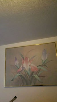 painting of white petaled flower New Haven, 06513