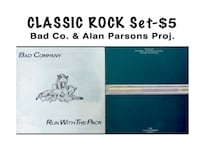 CLASSIC ROCK Lp Set - Bad Company & Alan Parsons Project - $5 (Bethesda) Bethesda, MD, USA