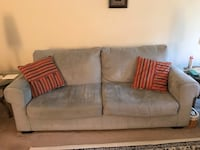 Sofa by Ashely in Sea Green/ Light Teal Fabric Falls Church, 22042