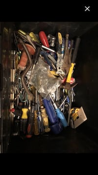 A bin full of tools got so much of different items Montréal, H4E