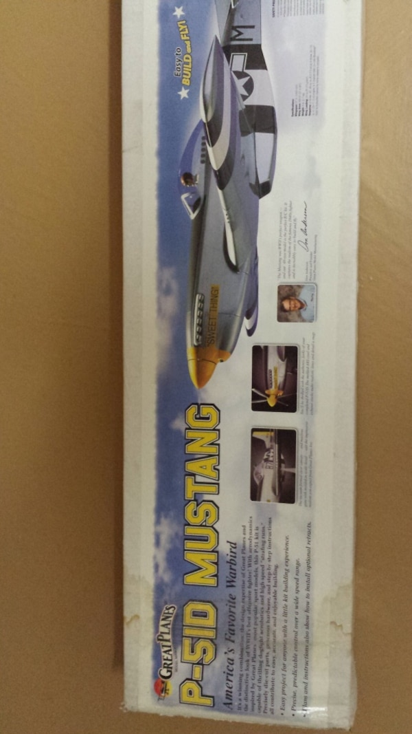Great Planes P-51D Mustang Gas American Favourite Warbird Kit