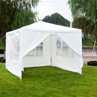 NEW 10' x 10' Outdoor Canopy Tent w/4 walls, fully Centreville
