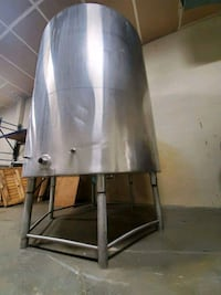 Jacketed SS Food GradeTanks 315K BTU   Abbotsford