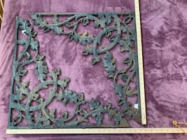 New Orleans Iron Corbels