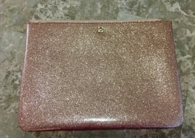 Kate Spade Sparkling Rose Gold Clutch