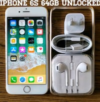 Iphone 6S (4.7') UNLOCKED 64GB + Accessories  37 km