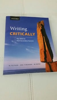Writing Critically Textbook Etobicoke, M9W