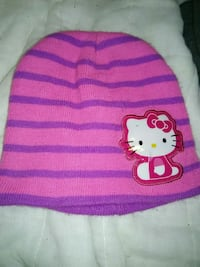 pink and purple Hello Kitty beanie cap Columbus