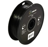 AMZ3D 1.75mm PLA 3D Printer Filament, Black, 1 Kg spool 2.2 lbs Toronto