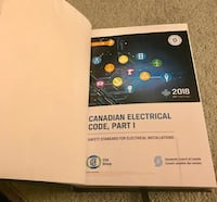 Latest 2018 Canadian Electrical Code Book Part 1  Brampton, L6R 3P7