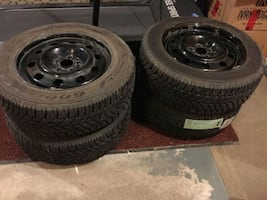 **GOODYEAR TIRE WINTER SET**