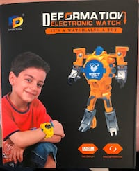 Deformation Electronic Watch