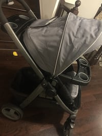 Car seat and stroller  715 km