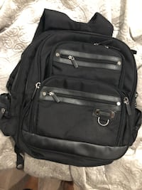 black leather 2-way bag Surrey, V3W 1N8