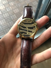 Michael Kors Watch leather band with stones Toronto, M5A 3C6
