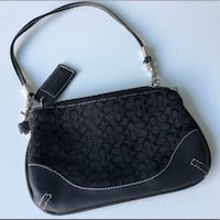 Coach Black Small Wristlet Wallet