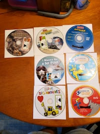 7 learning DVDs