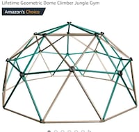 Lifetime Geometric Dome Climber Play Center, Earth Canal Winchester, 43110