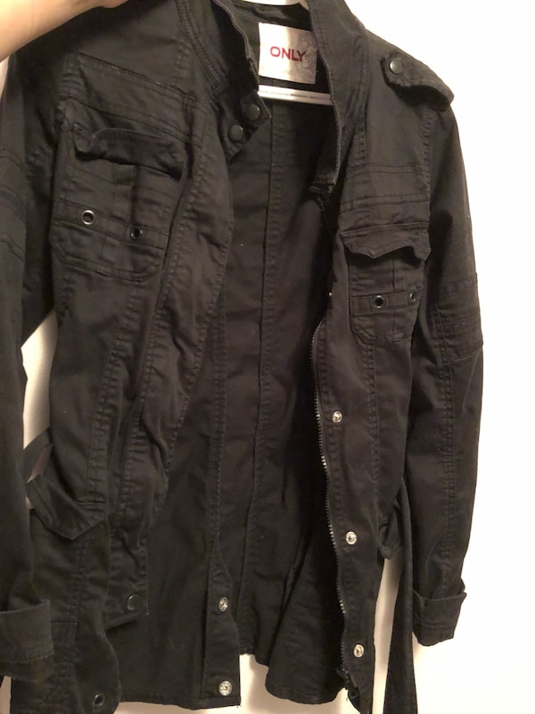 Black only jacket size small