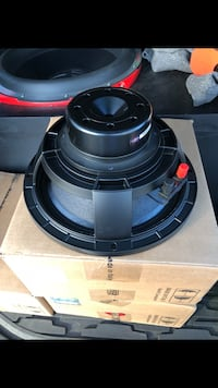 black and gray coaxial speaker 232 mi
