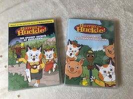 Hurray for Huckle DVD set