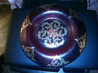 FENTON Red glass platter Bakersfield, 93308