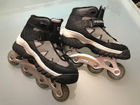 pair of black-and-gray inline skates Gatineau, J8T 2Y8