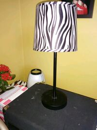 black and white table lamp Kingston, K7M 4B1