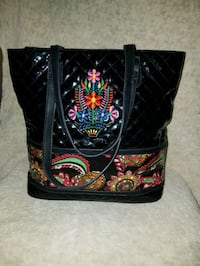 black and multicolored floral Vera Bradley bag 1194 mi
