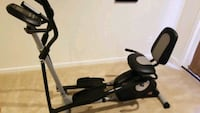 Pro-form Hybrid Standing and Seated Elliptical (like new). Brandywine, 20613