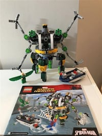 Lego Superheroes Spider-Man: Doc Ock's Tentacle Trap #76059