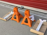 3 Ton Car Jack Stands Brand New Ontario, 91764