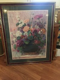 Assorted-color flowers painting and brown frame Clarksville, 37040