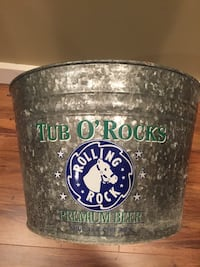Rolling Rock Beer Metal bucket Bluemont, 20135