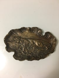 Bronze Theodore Roosevelt Tiger Tray Silver Spring, 20910