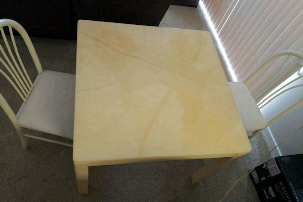 Goat Skin table