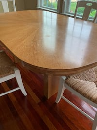 Dining Table with 2 Leaves FREDERICK